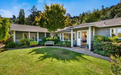 Recently Sold – 480 Montecito Corte Madera-Seller Representation